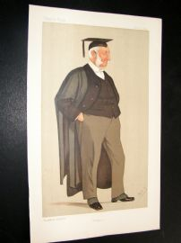 Vanity Fair Print 1892 Rev. Edward Hale